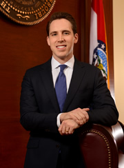 Official Portrait of AG Hawley